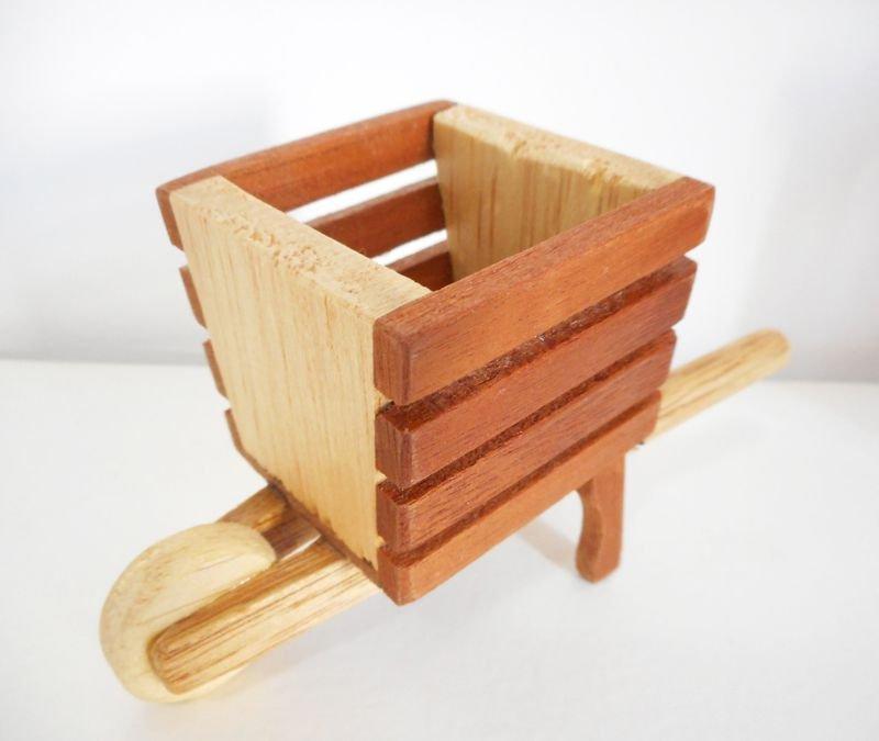 Aparador Cocina Leroy Merlin ~ Mini Carriola de Madeira u2013 Miola Design
